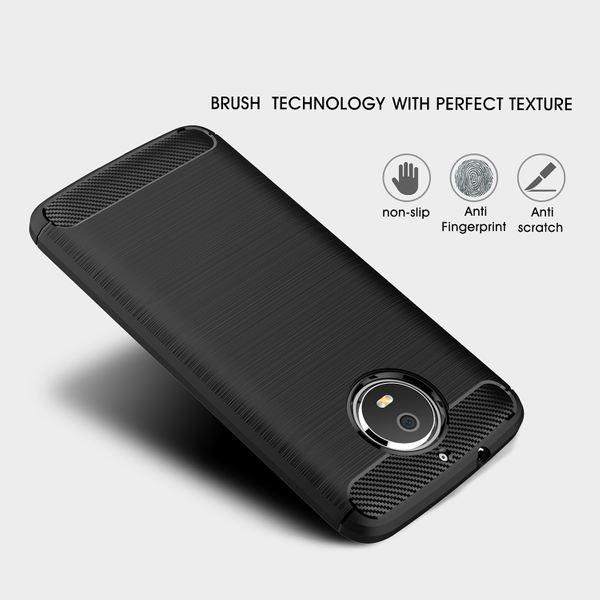 NALIA Handyhülle für Motorola Moto G5S, Ultra Slim Silikon Case Cover, Dünne Crystal Phone Schutzhülle, Stoßfeste Etui Handy-Tasche Back-Cover Bumper, TPU Gummihülle für Moto-G5S - Schwarz – Bild 3