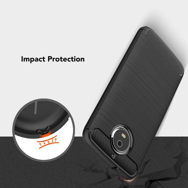 NALIA Handyhülle für Motorola Moto G5S, Ultra Slim Silikon Case Cover, Dünne Crystal Phone Schutzhülle, Stoßfeste Etui Handy-Tasche Back-Cover Bumper, TPU Gummihülle für Moto-G5S - Schwarz – Bild 6