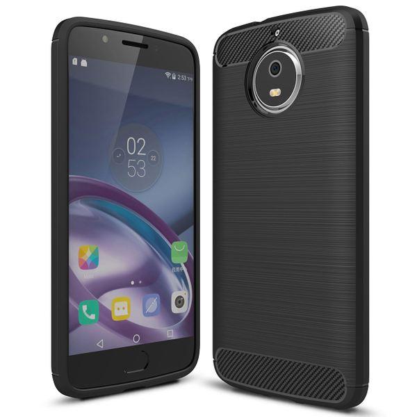 NALIA Handyhülle für Motorola Moto G5S, Ultra Slim Silikon Case Cover, Dünne Crystal Phone Schutzhülle, Stoßfeste Etui Handy-Tasche Back-Cover Bumper, TPU Gummihülle für Moto-G5S - Schwarz – Bild 1