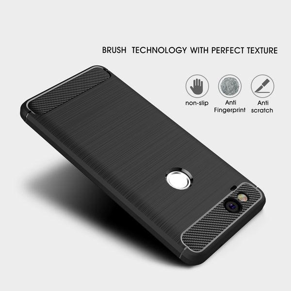 NALIA Handyhülle für Google Pixel 2, Ultra Slim Silikon Case Cover, Dünne Crystal Phone Schutzhülle, Stoßfeste Etui Handy-Tasche Back-Cover Bumper TPU Gummihülle für Pixel-2 Smartphone - Schwarz – Bild 4