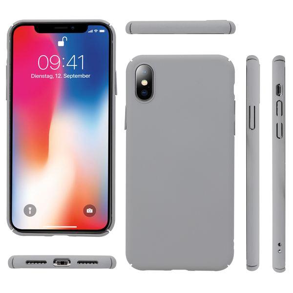 NALIA Handyhülle kompatibel mit iPhone X XS, Dünnes Hardcase Schutzhülle Case Matt, Slim Cover Etui leichte Handy-Tasche Ultra-Slime Hülle Backcover Skin Smartphone Bumper – Bild 6