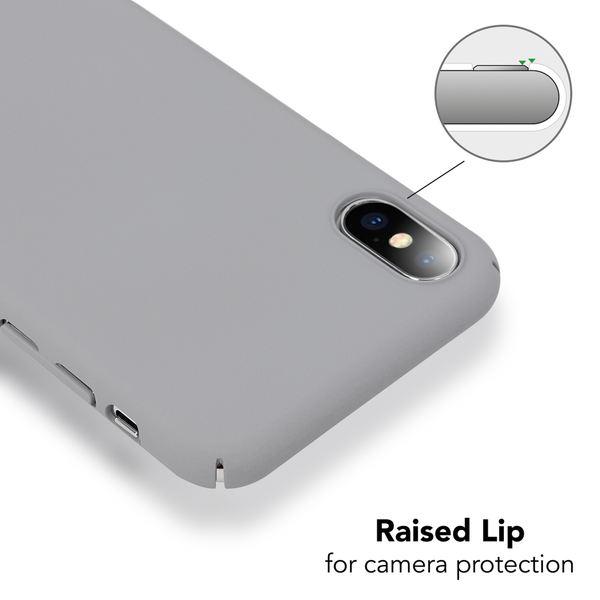 NALIA Handyhülle kompatibel mit iPhone X XS, Dünnes Hardcase Schutzhülle Case Matt, Slim Cover Etui leichte Handy-Tasche Ultra-Slime Hülle Backcover Skin Smartphone Bumper – Bild 8