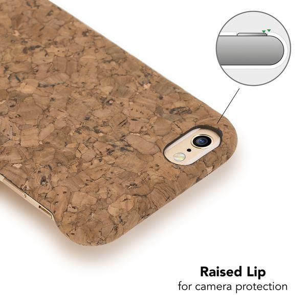 NALIA Kork Hülle kompatibel mit iPhone 6 6S, Natur-Holz Look Handyhülle Handy-Tasche Dünnes Ultra-Slim Hardcase Schutz Etui Backcover Bumper Cover Case Schutzhülle – Bild 23