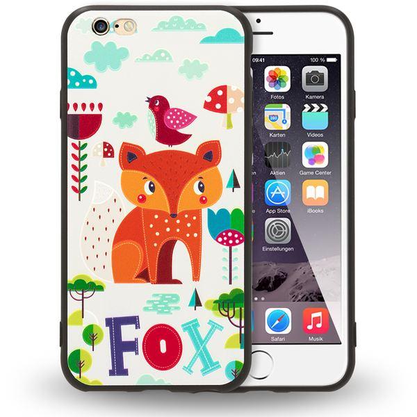 NALIA Handyhülle kompatibel mit iPhone 6 6s, Thin TPU Silikon Motiv Case Cover Gummi Schutzhülle Dünn, Ultra-Slim Etui Handy-Tasche Backcover Phone Bumper – Bild 2