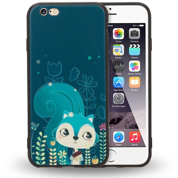 NALIA Handyhülle kompatibel mit iPhone 6 6s, Thin TPU Silikon Motiv Case Cover Gummi Schutzhülle Dünn, Ultra-Slim Etui Handy-Tasche Backcover Phone Bumper – Bild 7