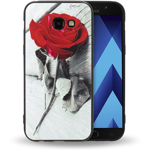 NALIA Handyhülle kompatibel mit Samsung Galaxy A3 (17), Slim TPU Silikon Motiv Case Cover Gummi Schutzhülle Dünn, Ultra-Slim Etui Handy-Tasche Backcover Phone Bumper – Bild 20