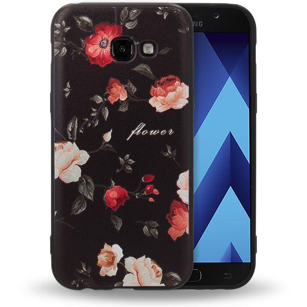 NALIA Handyhülle kompatibel mit Samsung Galaxy A5 (17), Slim TPU Silikon Motiv Case Cover Gummi Schutzhülle Dünn, Ultra-Slim Etui Handy-Tasche Backcover Phone Bumper – Bild 8