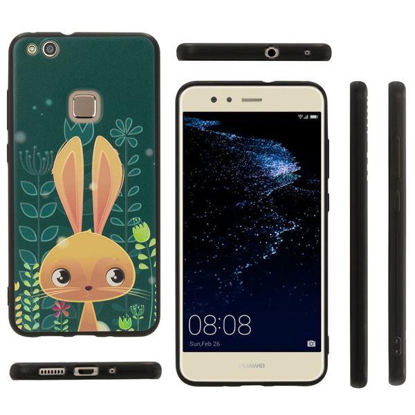 NALIA Handyhülle kompatibel mit Huawei P10 Lite, Slim TPU Silikon Motiv Case Cover Gummi Schutzhülle Dünn, Ultra-Slim Etui Handy-Tasche Backcover Phone Skin Bumper – Bild 10