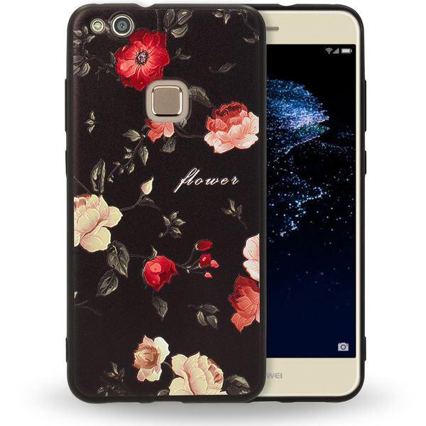 NALIA Handyhülle für Huawei P10 Lite, Slim TPU Silikon Motiv Case Cover Gummi Schutzhülle Dünn, Ultra-Slim Etui Handy-Tasche Backcover Phone Skin Bumper für P10-Lite – Bild 14