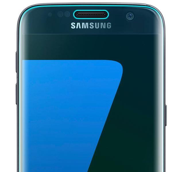 NALIA Schutzglas kompatibel mit Samsung Galaxy S7 Edge, 3D Full-Cover Displayschutz Hüllen-Kompatibel, 9H Glas-Schutzfolie Handy-Folie Schutz-Film HD Screen Protector Tempered Glass - Transparent – Bild 3