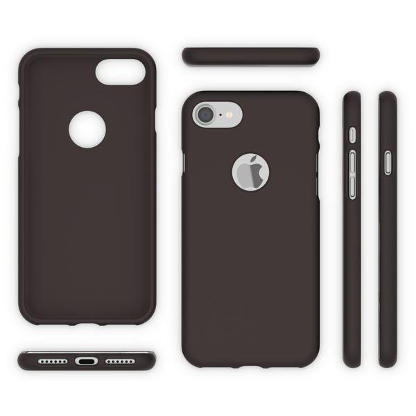 iPhone 7 Hülle Handyhülle von NALIA, Ultra-Slim TPU Silikon Neon Case, Dünnes Phone Cover Gummi Schutzhülle Skin, Etui Handy-Tasche Backcover Bumper für Apple i-Phone 7 Smartphone – Bild 6