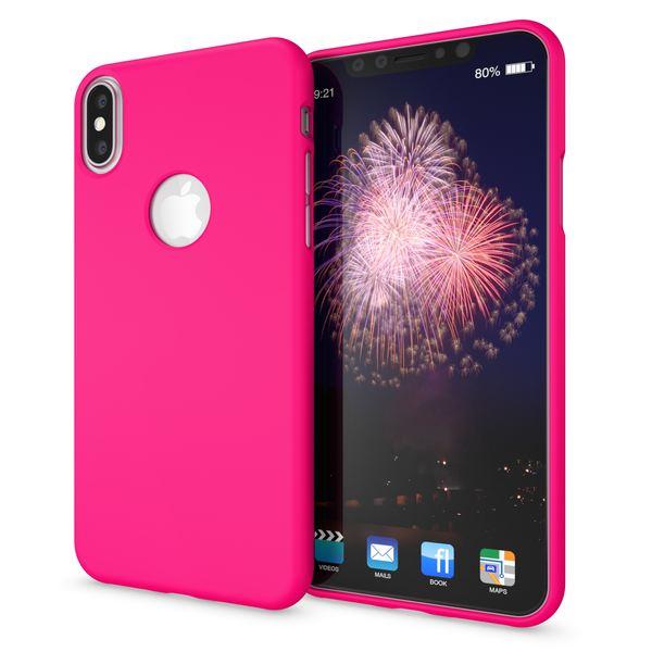 NALIA Handyhülle kompatibel mit iPhone X XS, Ultra-Slim Hülle TPU Silikon Neon Case, Dünnes Phone Back-Cover Gummi Schutzhülle Skin, Etui Handy-Tasche Smart-Phone Bumper – Bild 16