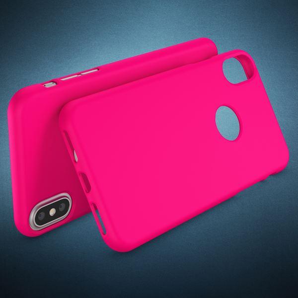 NALIA Handyhülle kompatibel mit iPhone X XS, Ultra-Slim Hülle TPU Silikon Neon Case, Dünnes Phone Back-Cover Gummi Schutzhülle Skin, Etui Handy-Tasche Smart-Phone Bumper – Bild 17