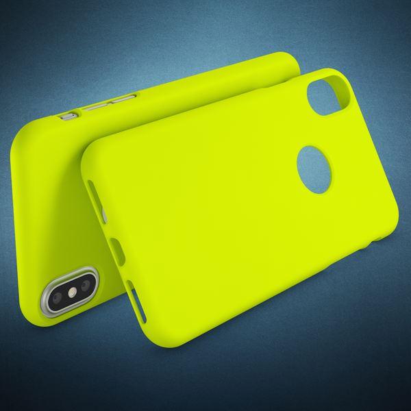 NALIA Handyhülle kompatibel mit iPhone X XS, Ultra-Slim Hülle TPU Silikon Neon Case, Dünnes Phone Back-Cover Gummi Schutzhülle Skin, Etui Handy-Tasche Smart-Phone Bumper – Bild 24