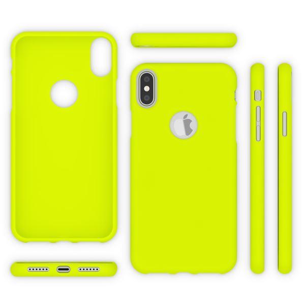 NALIA Handyhülle kompatibel mit iPhone X XS, Ultra-Slim Hülle TPU Silikon Neon Case, Dünnes Phone Back-Cover Gummi Schutzhülle Skin, Etui Handy-Tasche Smart-Phone Bumper – Bild 25