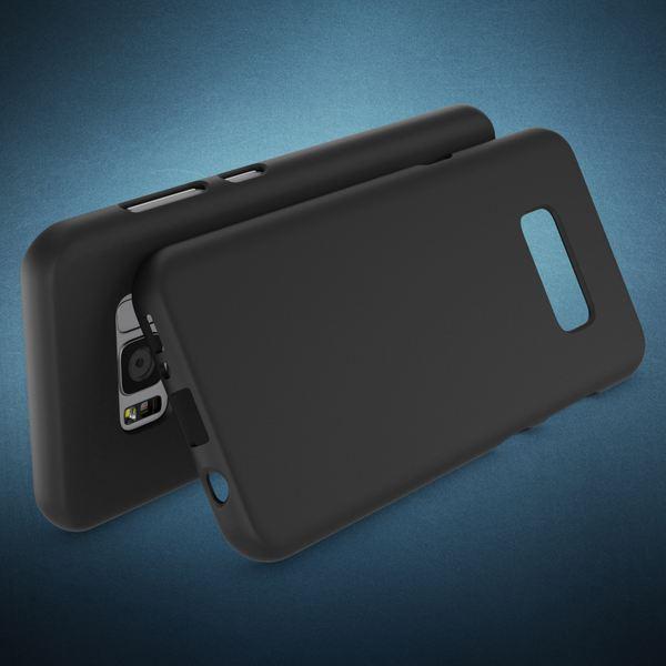 NALIA Handyhülle kompatibel mit Samsung Galaxy S8, Ultra-Slim TPU Silikon Neon Case, Dünnes Cover Gummi Schutzhülle Skin, Etui Handy-Tasche Backcover Smartphone Bumper – Bild 3
