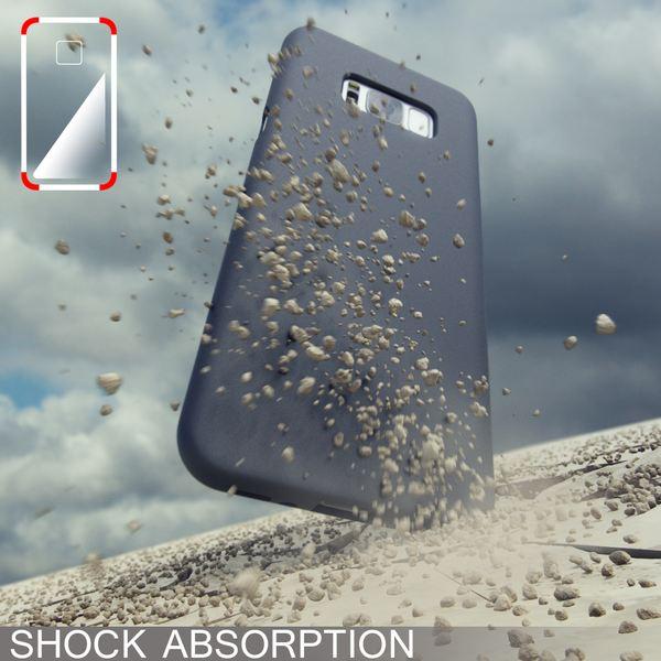NALIA Handyhülle kompatibel mit Samsung Galaxy S8, Ultra-Slim TPU Silikon Neon Case, Dünnes Cover Gummi Schutzhülle Skin, Etui Handy-Tasche Backcover Smartphone Bumper – Bild 8