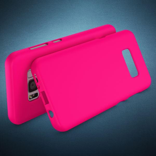 NALIA Handyhülle kompatibel mit Samsung Galaxy S8, Ultra-Slim TPU Silikon Neon Case, Dünnes Cover Gummi Schutzhülle Skin, Etui Handy-Tasche Backcover Smartphone Bumper – Bild 17