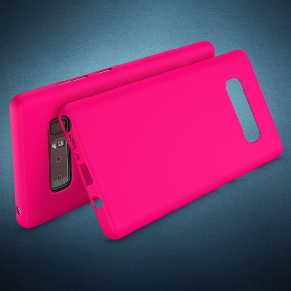 NALIA Handyhülle kompatibel mit Samsung Galaxy Note 8, Ultra-Slim TPU Silikon Neon Case, Dünnes Cover Gummi Schutzhülle Skin, Etui Handy-Tasche Backcover Smartphone Bumper – Bild 15