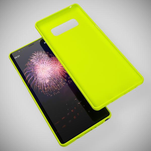 NALIA Handyhülle kompatibel mit Samsung Galaxy Note 8, Ultra-Slim TPU Silikon Neon Case, Dünnes Cover Gummi Schutzhülle Skin, Etui Handy-Tasche Backcover Smartphone Bumper – Bild 22