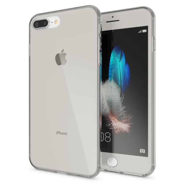 NALIA 360 Grad Handyhülle kompatibel mit Apple iPhone 7 Plus / 8 Plus, Full Cover vorne hinten Doppel-Schutz Dünnes Ganzkörper Case Silikon Transparenter Displayschutz & Rückseite – Bild 15