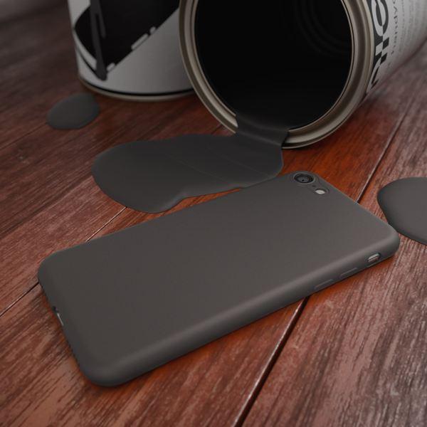 NALIA Handyhülle kompatibel mit iPhone 8 / 7, Ultra-Slim TPU Silikon Neon Case, Dünnes Cover Gummi Schutzhülle Skin, Etui Handy-Tasche Backcover Smart-Phone Bumper – Bild 4