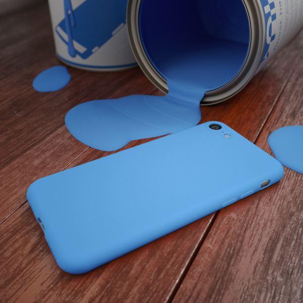NALIA Handyhülle kompatibel mit iPhone 8 / 7, Ultra-Slim TPU Silikon Neon Case, Dünnes Cover Gummi Schutzhülle Skin, Etui Handy-Tasche Backcover Smart-Phone Bumper – Bild 11