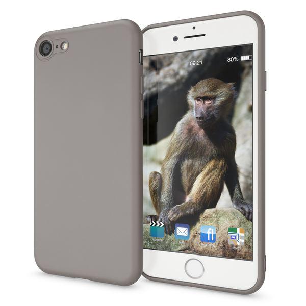 NALIA Handyhülle kompatibel mit iPhone 8 / 7, Ultra-Slim TPU Silikon Neon Case, Dünnes Cover Gummi Schutzhülle Skin, Etui Handy-Tasche Backcover Smart-Phone Bumper – Bild 23