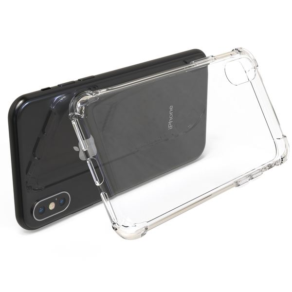 NALIA Handyhülle kompatibel mit iPhone X XS, Ultra-Slim Handy Schutz-Hülle Silikon Case Cover Crystal Dünn Durchsichtig, TPU Etui Handy-Tasche Back-Cover Bumper – Bild 6