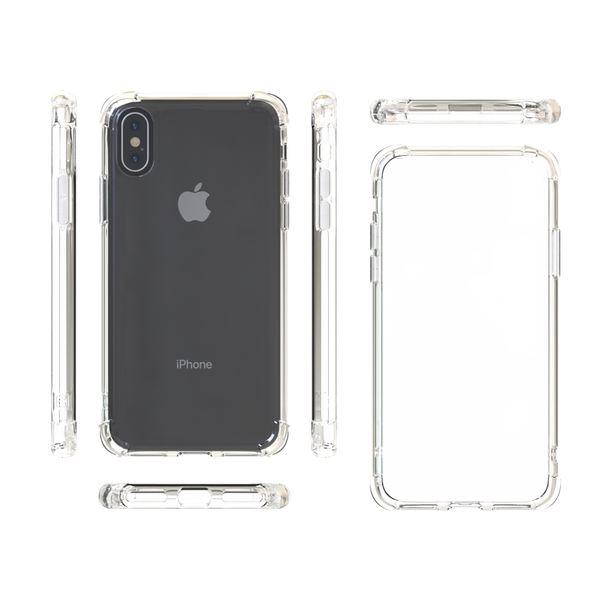 NALIA Handyhülle für iPhone X XS, Ultra-Slim Handy Schutz-Hülle Silikon Case Cover Crystal Dünn Durchsichtig, TPU Etui Handy-Tasche Back-Cover Bumper für Apple i-Phone XS X – Bild 4