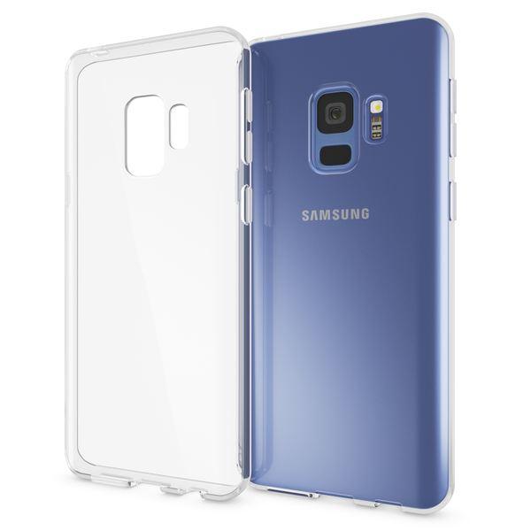 NALIA Handyhülle kompatibel mit Samsung Galaxy S9, Soft Slim TPU Silikon Case Cover Crystal Clear Schutzhülle Dünn Durchsichtig, Etui Handy-Tasche Backcover Transparent, Phone Schutz Bumper – Bild 1
