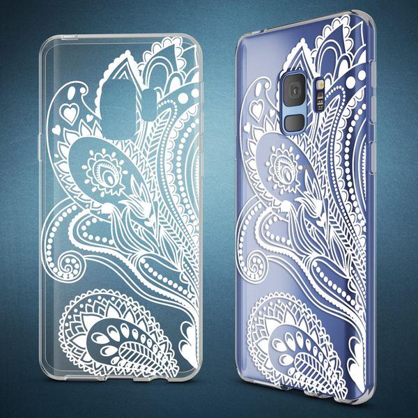 NALIA Handyhülle kompatibel mit Samsung Galaxy S9, Slim Silikon Motiv Case Crystal Schutzhülle Dünn Durchsichtig, Etui Handy-Tasche Back-Cover Transparent Bumper – Bild 4