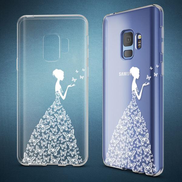 NALIA Handyhülle kompatibel mit Samsung Galaxy S9, Slim Silikon Motiv Case Crystal Schutzhülle Dünn Durchsichtig, Etui Handy-Tasche Back-Cover Transparent Bumper – Bild 16