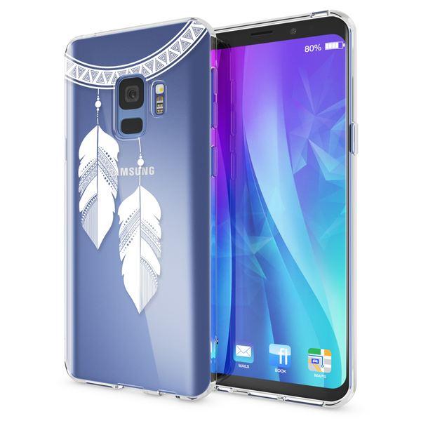 NALIA Handyhülle kompatibel mit Samsung Galaxy S9, Slim Silikon Motiv Case Crystal Schutzhülle Dünn Durchsichtig, Etui Handy-Tasche Back-Cover Transparent Bumper – Bild 18
