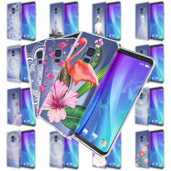 NALIA Handyhülle kompatibel mit Samsung Galaxy S9, Slim Silikon Motiv Case Crystal Schutzhülle Dünn Durchsichtig, Etui Handy-Tasche Back-Cover Transparent Bumper – Bild 1