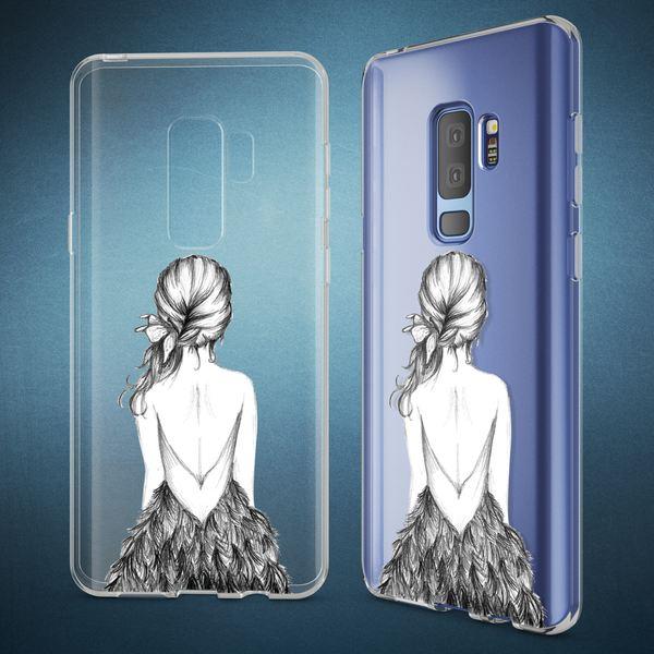 NALIA Handyhülle kompatibel mit Samsung Galaxy S9 Plus, Slim Silikon Motiv Case Crystal Schutzhülle Dünn Durchsichtig, Etui Handy-Tasche Back-Cover Transparent Bumper – Bild 12