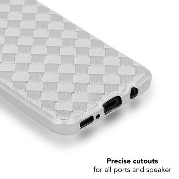 NALIA Handyhülle kompatibel mit Samsung Galaxy S8 Plus, Ultra-Slim gewebtes Muster TPU Silikon Case, Dünnes Cover Gummi Schutzhülle Skin, Etui Handy-Tasche Backcover Bumper – Bild 12