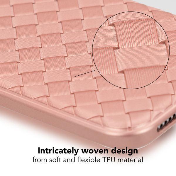 NALIA Handyhülle kompatibel mit Samsung Galaxy Note 8, Ultra-Slim gewebtes Muster TPU Silikon Case, Dünnes Cover Gummi Schutzhülle Skin, Etui Handy-Tasche Backcover Bumper – Bild 12