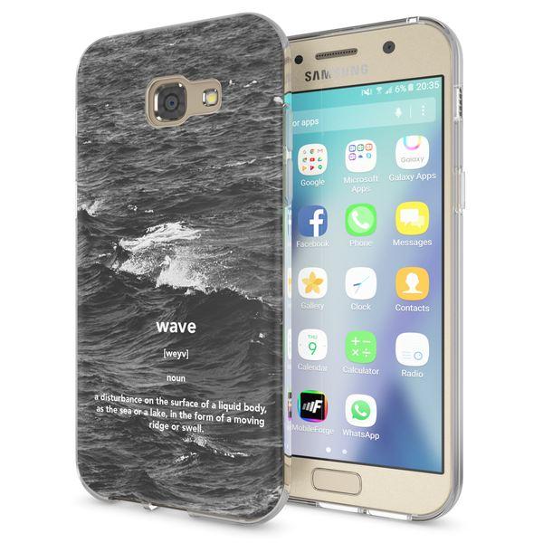 NALIA Handyhülle kompatibel mit Samsung Galaxy A5 2017, Lustig Silikon Phone Etui Dünnes Case Ultra-Slim Schutzhülle Spruch Handy-Tasche Back-Cover Bumper – Bild 2