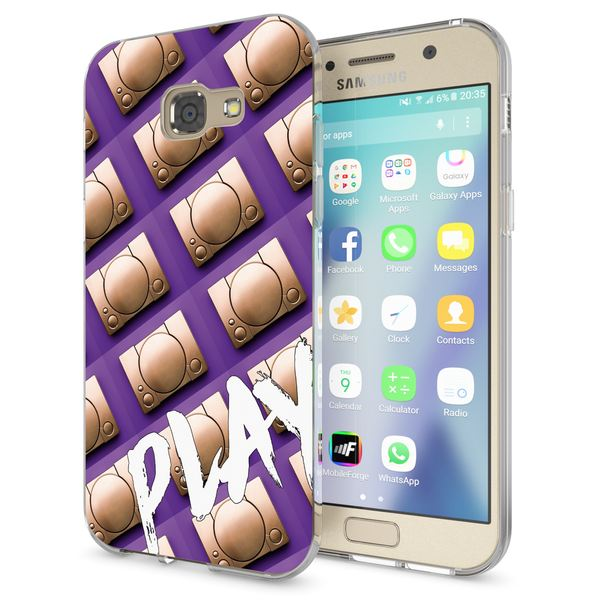 NALIA Handyhülle kompatibel mit Samsung Galaxy A5 2017, Lustig Silikon Phone Etui Dünnes Case Ultra-Slim Schutzhülle Spruch Handy-Tasche Back-Cover Bumper – Bild 9