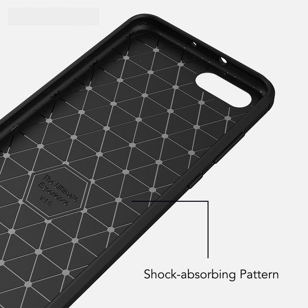 NALIA Handyhülle kompatibel mit Huawei Honor View 10, Ultra Slim Silikon Case Cover, Dünne Crystal Phone Schutzhülle, Stoßfeste Etui Handy-Tasche Back-Cover Bumper, Gummihülle - Schwarz – Bild 6