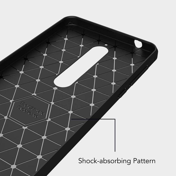 NALIA Hülle kompatibel mit Nokia 6.1 (2018), Ultra-Slim Handyhülle Silikon Case Cover, Dünne Crystal Phone Schutzhülle, Stoßfeste Etui Handy-Tasche Backcover Bumper Smartphone Gummihülle - Schwarz – Bild 6