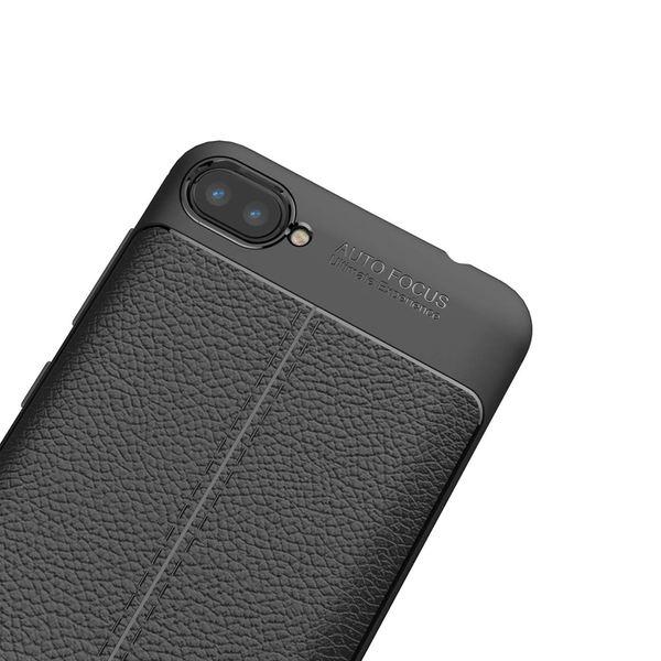 "NALIA Leder-Look Hülle kompatibel mit ASUS ZenFone 4 Max 5,2"", Ultra-Slim Silikon Handyhülle Case Cover, Dünne Schutzhülle, Stoßfeste Etui Handy-Tasche Back-Cover Bumper Gummihülle - Schwarz – Bild 6"