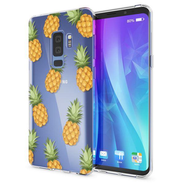 NALIA Handyhülle kompatibel mit Samsung Galaxy S9 Plus, Slim Silikon Motiv Case Crystal Schutzhülle Dünn Durchsichtig, Etui Handy-Tasche Back-Cover Transparent Bumper – Bild 9