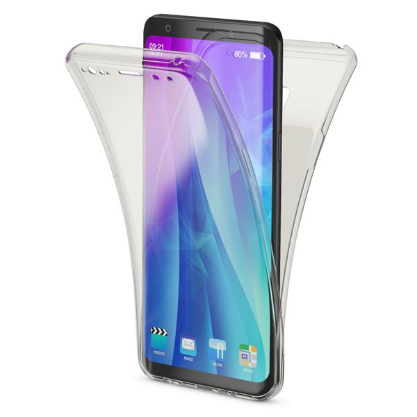 NALIA 360 Grad Hülle kompatibel mit Samsung Galaxy S9, Full Cover vorne & hinten Rundum Doppel-Schutz, Dünnes Ganzkörper Case Silikon Etui, Transparenter Displayschutz & Rückseite – Bild 9