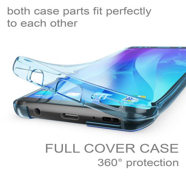 NALIA 360 Grad Hülle kompatibel mit Samsung Galaxy S9, Full Cover vorne & hinten Rundum Doppel-Schutz, Dünnes Ganzkörper Case Silikon Etui, Transparenter Displayschutz & Rückseite – Bild 18