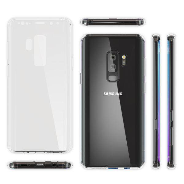 NALIA 360 Grad Handyhülle kompatibel mit Samsung Galaxy S9 Plus, Full Cover vorne hinten Doppel-Schutz Dünnes Ganzkörper Case Silikon Etui, Transparenter Displayschutz & Rückseite – Bild 15
