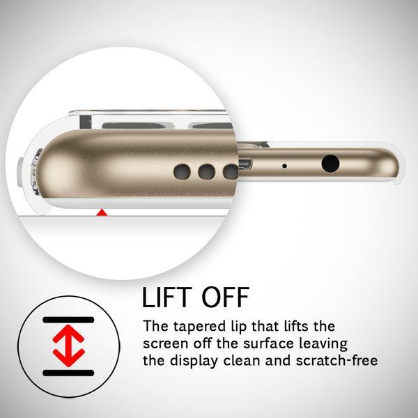 NALIA Handyhülle für Huawei P Smart, Soft Slim TPU Silikon Case Cover Crystal Clear Schutzhülle Dünn Durchsichtig, Etui Handy-Tasche Backcover Transparent, Phone Schutz Bumper für P-Smart – Bild 5