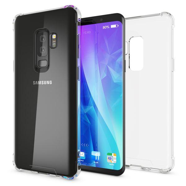 NALIA Handyhülle kompatibel mit Samsung Galaxy S9 Plus, Ultra-Slim Silikon Case Cover Schutzhülle Dünn Durchsichtig, Etui Handy-Tasche Backcover Transparent Phone Bumper – Bild 8