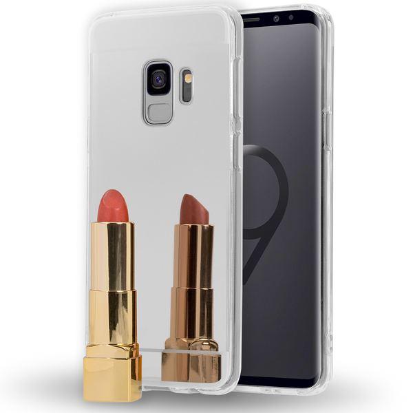 NALIA Spiegel Handyhülle kompatibel mit Samsung Galaxy S9, Ultra-Slim Mirror Case TPU Silikon-Hülle, Dünne Schutzhülle Back-Cover verspiegelt, Handy-Tasche Bumper Phone Etui – Bild 7